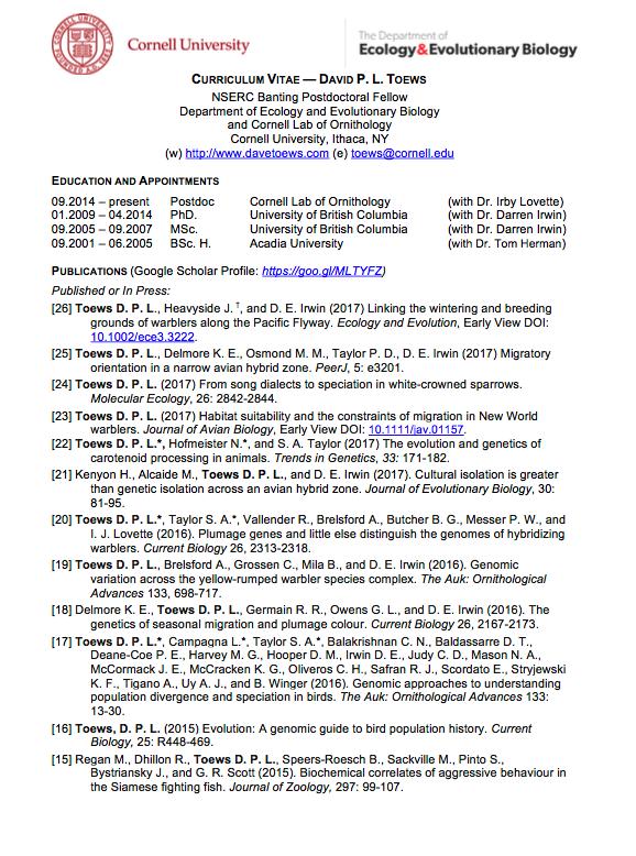 David rudd phd resume