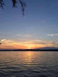 Sunset on Raquette Lake